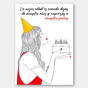 Lámina cumpleaños